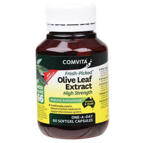 Olive Leaf Extract High Strength Liquid Capsules by Comvita