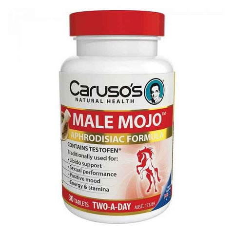 Male Mojo 30 Tablets by Carusos Natural Health