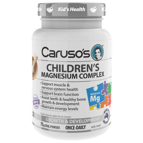 Children's Magnesium Complex by Caruso's Natural Health