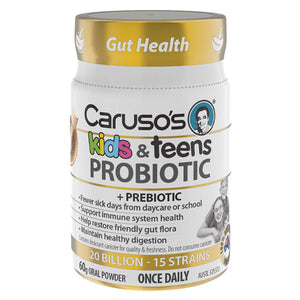 Kids & Teens Probiotic by Caruso's Natural Health