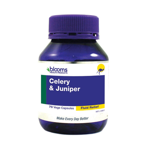 Celery & Juniper 3000mg Capsules by Blooms