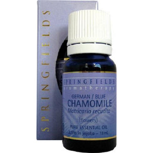 Chamomile (German Blue) Organic Essential Oil by Springfields