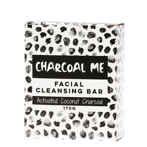 Charcoal Me Activated Coconut Charcoal Facial Cleansing Bar