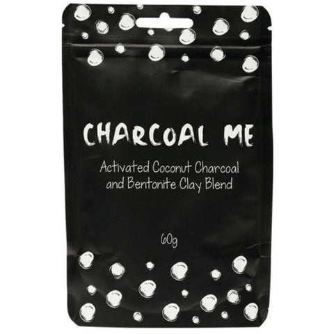 Charcoal Me Activated Coconut Charcoal & Bentonite Clay Powder