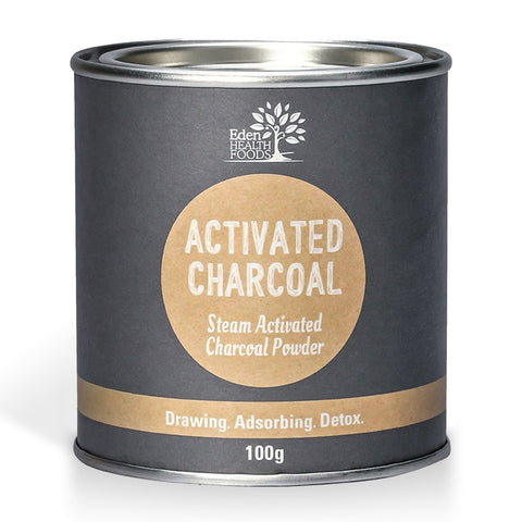 Eden Healthfoods Steam Activated Charcoal Powder 100g