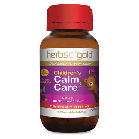 Image of Childrens Calm Care 60 Tablets by Herbs of Gold