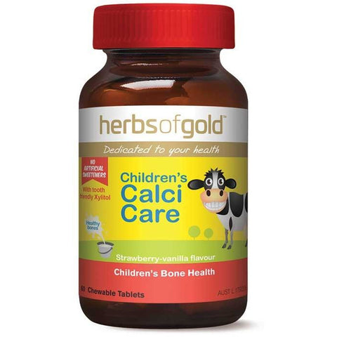 Childrens Chewable Calci Care by Herbs of Gold