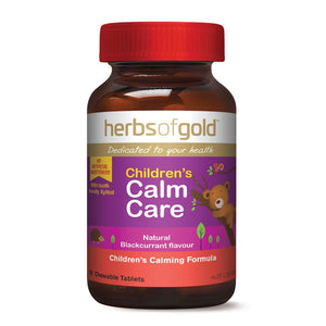 Childrens Calm Care 60 Tablets by Herbs of Gold