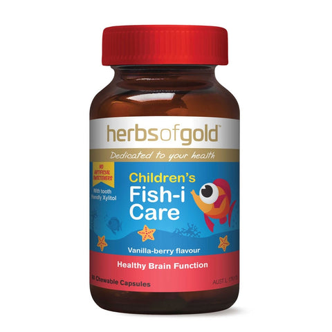 Image of Childrens Fish-i Care by Herbs of Gold