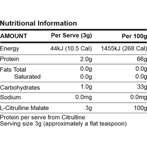 L-Citrulline Malate by ATP Science