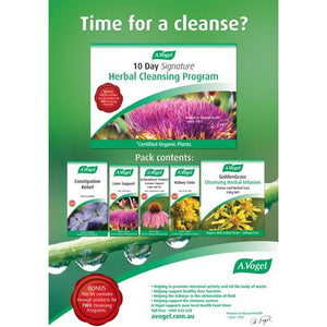 10 Day Herbal Cleanse Program by Vogel