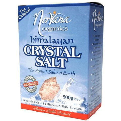 Himalayan Crystal Salt Course Granules 500g - Nirvana Health Products