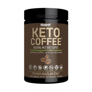Giant Sports Keto Coffee 20 Serves Brazillian Roast