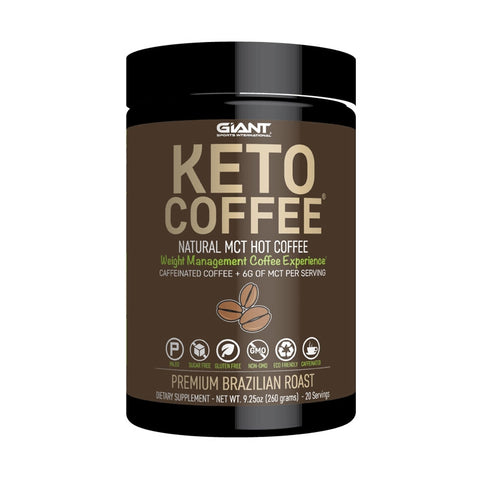 Image of Giant Sports Keto Coffee 20 Serves