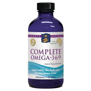 Complete Omega (3-6-9) Liquid 237ml Lemon Flavour by Nordic Naturals