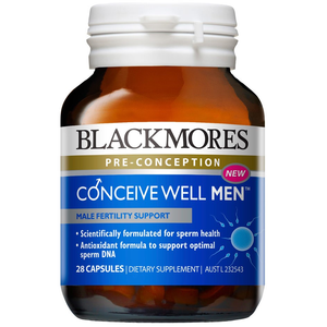 Conceive Well Men Capsules by Blackmores