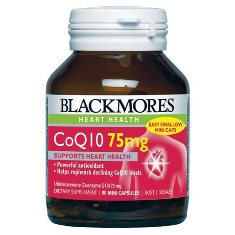Image of CoQ10 75mg 90 Capsules by Blackmores