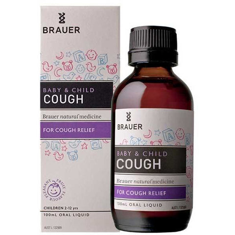 Baby & Child Cough Relief Oral Liquid by Brauer Natural Medicines
