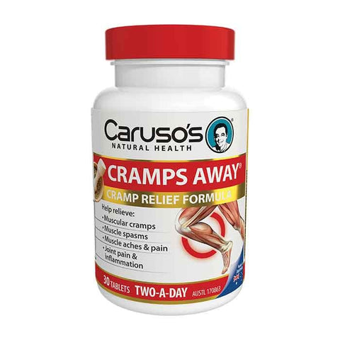 Cramps Away by Carusos Natural Health