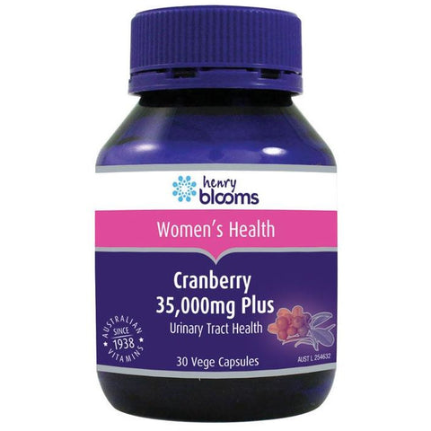Blooms Cranberry 35000 plus Vitamin C Capsules