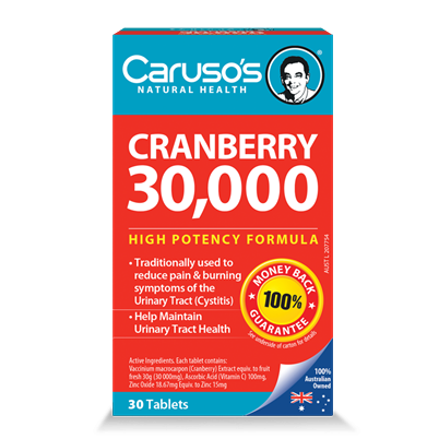 Image of Cranberry 30000 by Carusos Natural Health