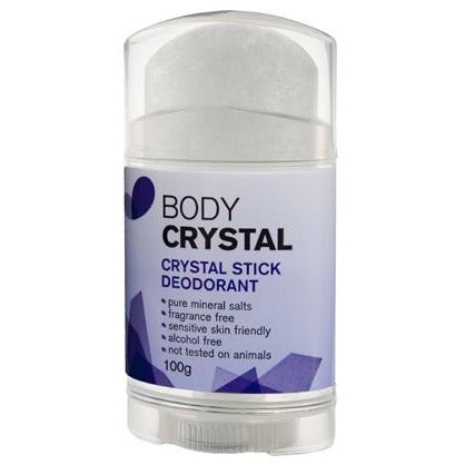 Body Crystal Stick Deodorant 100g Fragrance Free