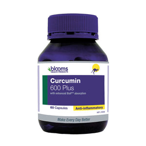Curcumin 600 Plus 60 Capsules - (Turmeric Component) by Blooms