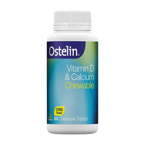 Ostelin Calcium & Vitamin D3 Chewable Tablets