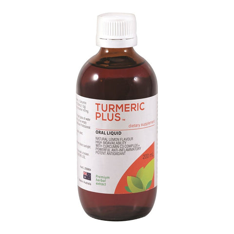De Jong Turmeric Plus Oral Liquid 200ml