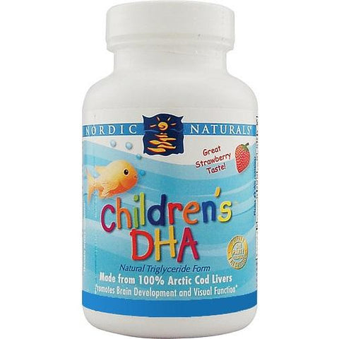 Image of Childrens DHA 90 Capsules Strawberry by Nordic Naturals