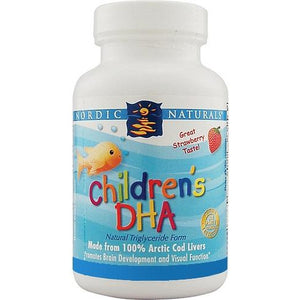 Childrens DHA 90 Capsules Strawberry by Nordic Naturals