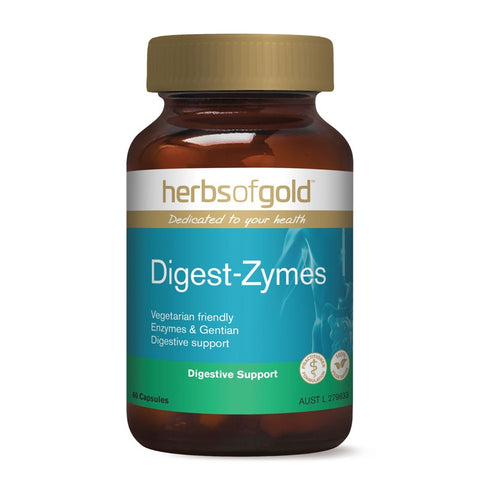 Image of Digest-Zymes (Vege Caps) by Herbs of Gold