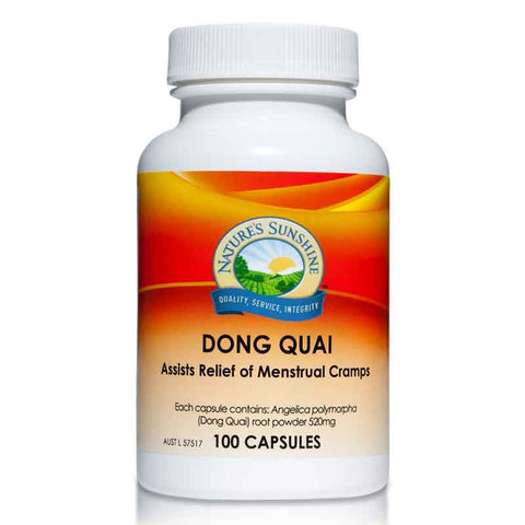 Dong Quai 520mg 100 Capsules by Natures Sunshine
