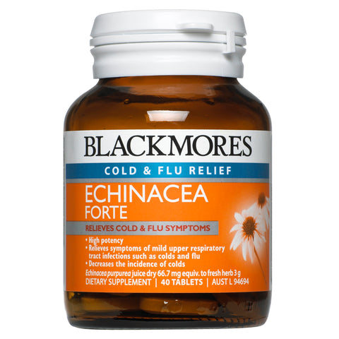 Echinacea Forte 40 Tablets by Blackmores