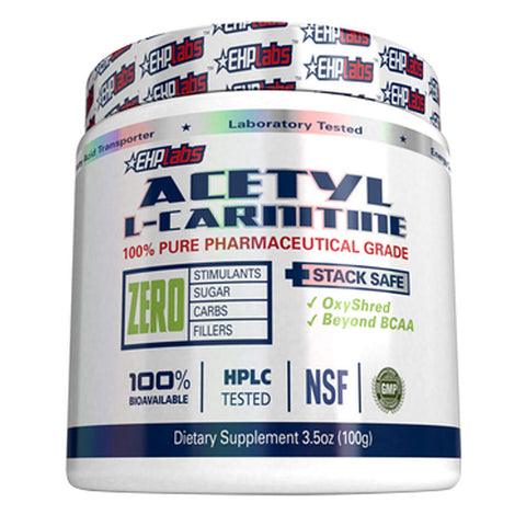 Image of EHP Labs Acetyl L-Carnitine 100 Serves Unflavoured