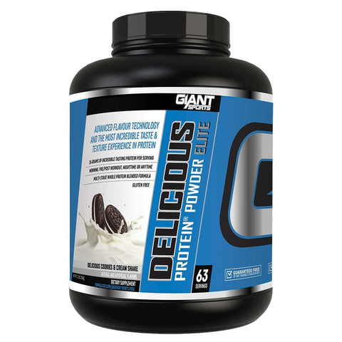 Delicious Protein Cookies & Cream 5lb - Giant Sports