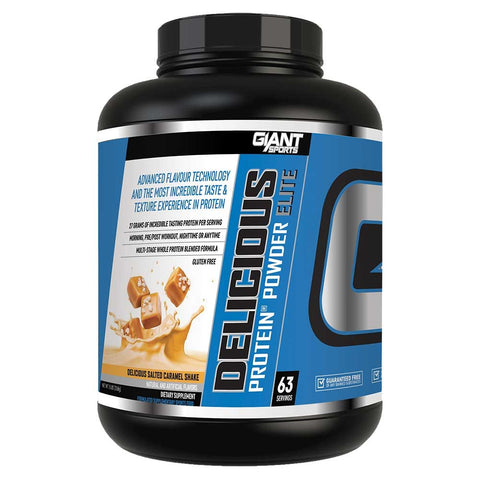 Delicious Protein Salted Caramel 5lb - Giant Sports