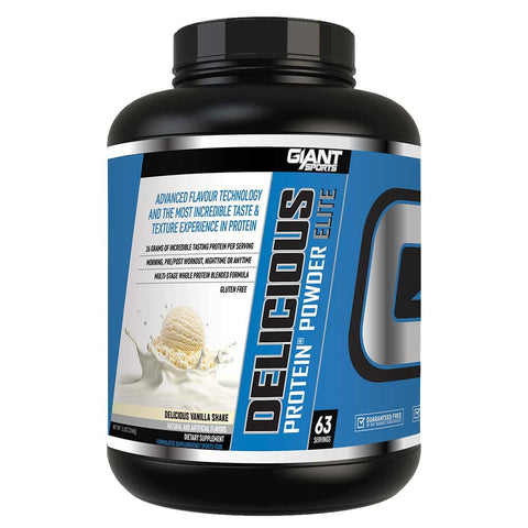 Image of Delicious Protein Vanilla 5lb - Giant Sports