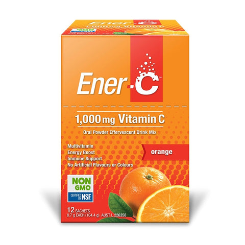 Ener-C 1000mg Vitamin C Effervescent Powder