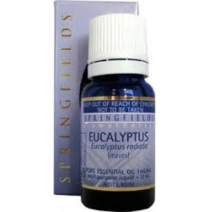Eucalyptus Organic Essential Oil by Springfields