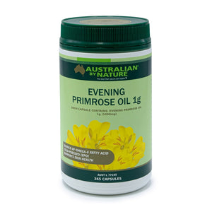 Evening Primrose Oil 1000mg 365 Capsules by Australian By Nature
