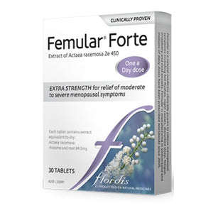 Femular (Ze450) Forte 90 Tablets by Flordis *Double Strength*