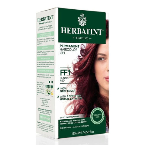 Image of Herbatint Flash Fashion FF1 Henna Red by Herbatint