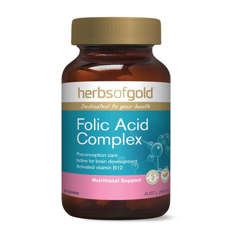 Image of Folic Acid Complex by Herbs of Gold
