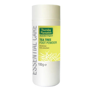 Tea Tree Foot Powder 100g by Thursday Plantation