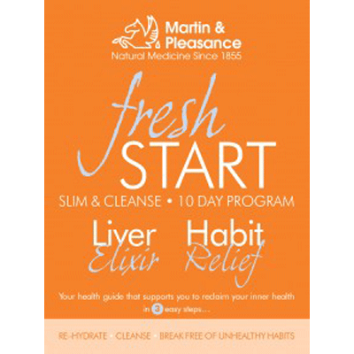Fresh Start Slim & Cleanse 10 Day Program by Martin & Pleasance
