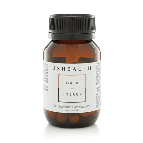 Image of JS Health Hair & Energy Formula 30 Hard Capsules