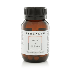 JS Health Hair & Energy Formula 30 Hard Capsules