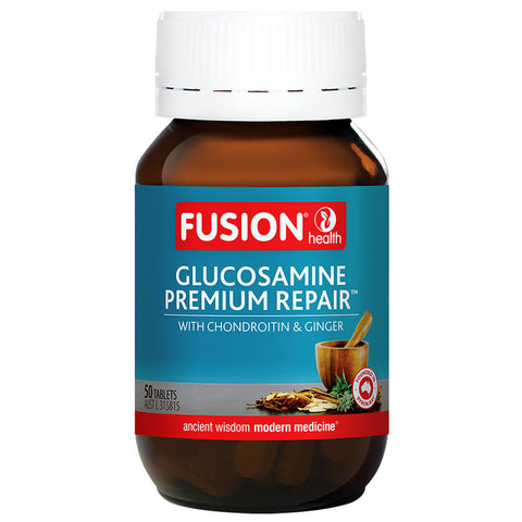 Glucosamine Premium Repair with Chondroitin & Ginger by Fusion Health