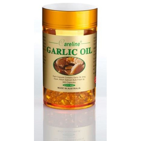 Garlic Oil 300 Capsules by Careline